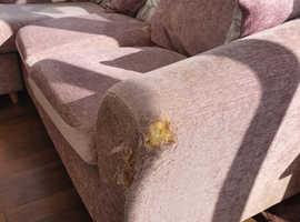 Free left or right hand corner sofa