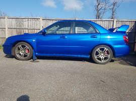 Subaru Impreza, 2003 (03) Blue Saloon, Manual Petrol, 96,000 miles