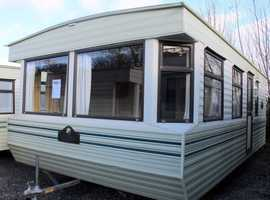A static caravan for sale off site Westmorland 23ft by 12ft ONE bedroom ideal for self build, own land or extra living space in garden