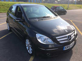 Mercedes B-CLASS, 2007 (57) Black MPV, Cvt Diesel, 98,000 miles