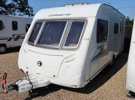 Swift Corniche 17/4 2010 4 Berth Caravan + Motor Mover + Separate Shower + 3 Months Warranty Included