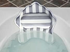 luxury bath pillow new 100% ,free