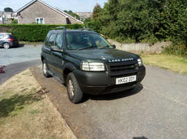 Land Rover Freelander, 2002 (02) Green Estate, Automatic Diesel, 187,000 miles
