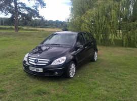 Mercedes B-CLASS, 2007 (07) Black MPV, Manual Petrol, 56,000 miles