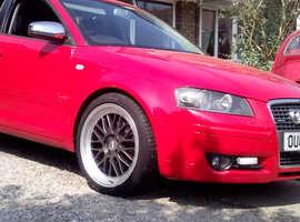 Audi A3 Tfsi Quattro sportback 200+bhp
