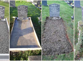 BIG TRANSFORMATIONS ON A LOVED ONES GRAVE