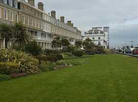lovely room on worthing seafront    very beautiful building