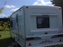 Bessacarr Cameo 495SL 2 berth caravan with motor mover & many extras