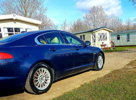Jaguar Xf, 2012 (62) Blue Saloon, Automatic Diesel,