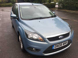 Ford Focus, 2008 (08) Blue Hatchback, Manual Diesel, 86,200 miles