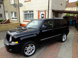 Jeep Patriot, 2010 (60) Black Estate, Manual Diesel, 48,166 miles