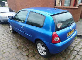 Renault Clio, 2005 (05) Blue Hatchback, Manual Petrol, 102,000 miles