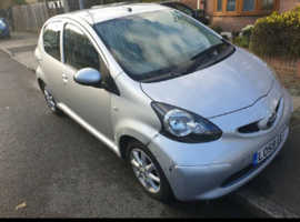 Toyota Aygo, 2009 (58) Silver Hatchback, Manual Petrol, 146,000 miles