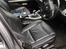 BMW 3 Series, 2008 (58) Grey Estate, Manual Diesel, 114,000 miles
