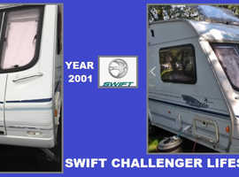 Swift  4 Berth 530 Caravan Part Of Ace Abbey Sterling Bargain