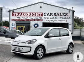 2013/13 VW Up 1.0 Move Up [A-Frame] finished in Candy White. , 36,491 miles