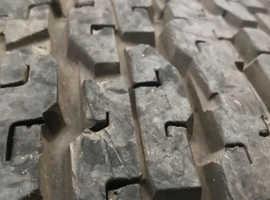 265/70/16 -112s - Bridgestone H/T 689 dueller £15 bargain - 1 tyre only