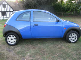 Ford Ka, 2003 (53) Blue Hatchback, Manual Petrol, 40,500 miles