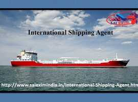 Book your International Shipping Agent now