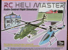 'RC Heli Master' Remote Controlled Helicopter Simulator (new)