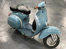 PIAGGIO (DOUGLAS) VESPA 150cc 1970, NO MILEAGE!!