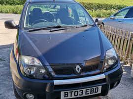 Renault Megane, 2003 (03) Black MPV, Manual Diesel, 91,891 miles