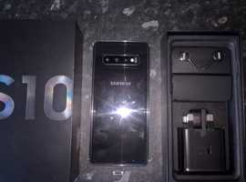 Samsung Galaxy S10 128gb prism black.