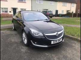 Vauxhall Insignia, 2016 (16) Black Hatchback, Manual Diesel, 124,500 miles