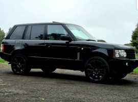 Land Rover Range Rover, 2005 (55) Black Estate, Automatic Diesel, 173,282 miles