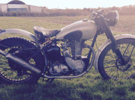 BSA 1952 ZB32 350cc Competition Alloy Plunger Trials