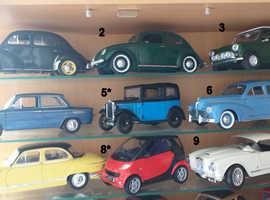 Various 1.18 Diecast Model Cars.