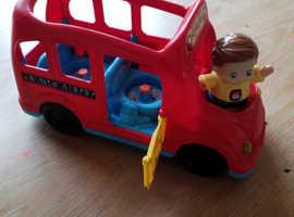 Vtech toot toot friends learning wheels school bus