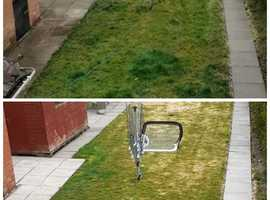 Power washing services, grass cutting