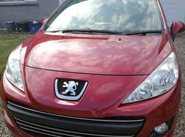Peugeot 207, 2011 (11) Red Hatchback, Manual Petrol, 40,000 miles