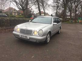 Mercedes E Class, 1998 (S) Silver Estate, Automatic Diesel, 145,000 miles