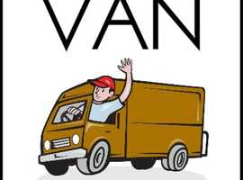 Friendly Man with a van