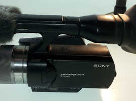 SONY Handycam NEX-VG10 Professional Cinematic 1080 HD Camcorder with Sevenoak Pro SteadyCam & Dolly