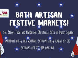 Bath Artisan Festive Market - Sun Dec 8th