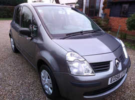 Renault Modus, 2006 (56) Grey Hatchback, Manual Petrol, 90,022 miles