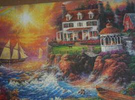 2 x 1000 piece jigsaw puzzles