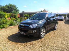 Vauxhall Antara, 2012 (12) Black Hatchback, Manual Diesel, 97,630 miles