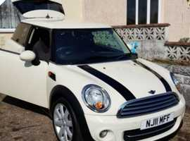 Mini MINI, 2011 (11) White Hatchback, Manual Diesel, 63,000 miles