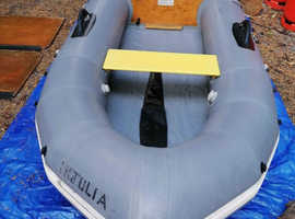 AVON INFLATABLE DINGHY AND OUTBOARD
