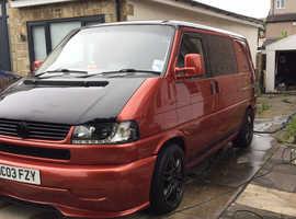2003 VW T4 Transporter Campervan 2.5TD