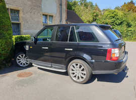 Land Rover Range Rover Sport, 2007 (07) Black Estate, Automatic Diesel, 227,500 miles