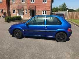 Citroen Saxo, 2003 (03) Blue Hatchback, Manual Petrol, 65,742 miles
