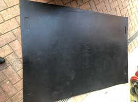 Rubber gym matt