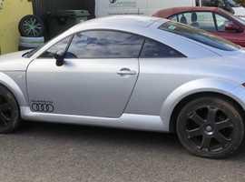 Audi TT, 1999 (V) Silver Coupe, Manual Petrol, 158,000 miles