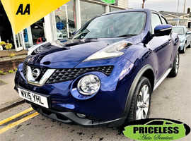 Nissan Juke, 2015 (15) Blue Hatchback, Manual Diesel, 54,890 miles
