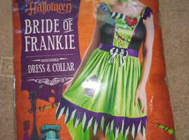 Halloween Fancy Dress Bride of Frankie packaged unused
